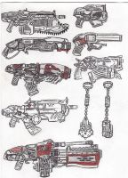 armas Gears of War by Lavey1917