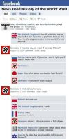 If Facebook existed during WWII by GriffinBing