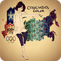 Thank you, Sochi 2014 by arivetti