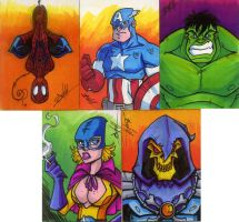 march of dimes sketch cards by natelovett