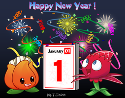 Hello New Year ! by NgTTh