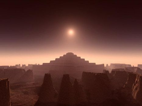 gift For You- terragen pyramid by Swaroop