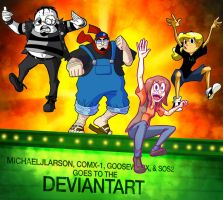Crew Goes to Deviantart by ComX-1