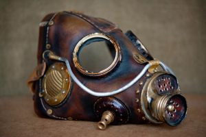 steampunk mask by vofffka