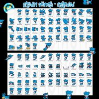 Stryder the Veemon Shimeji Extension +FREE+ by Cachomon