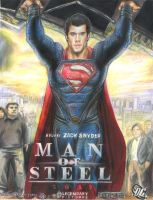 Man of Steel 2013 Superman by HeroArtist20