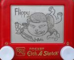 Flippy etch a sketch by pikajane