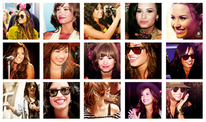icons demi lovato. by MyloveRobsten