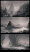 Speedpainting Landscapes by ReneAigner