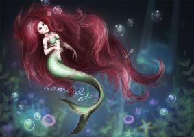 Pt. 2 - The little Mermaid by Lambidy