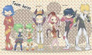 Team Hero by pink-hudy