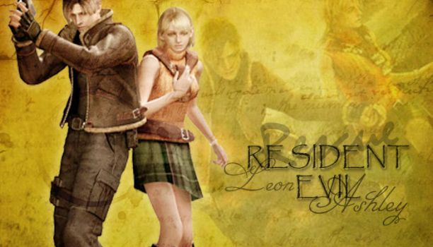 Resident Evil, Leon and Ashley by WhiteMoon06
