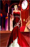 Jill Valentine In Red by princess4everafter
