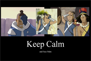 Keep Calm Sokka by ouranhalfkewl
