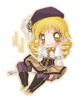 Mami Tomoe Chibi by Kawaii-Dream