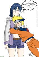 RtN Hinata and Naruto by RoninOfDeath