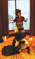 Puppet A-kon 22 by clockworkcosplay