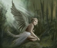 Angel in the Forest v1 by dcproductions25