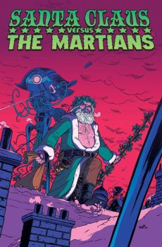 Santa vs. The Martians by edbrisson