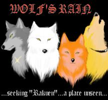 Wolf's Rain-seeking Rakuen- by DarkDemonWolf