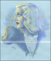 Portrait of Ginger Rogers by Artman2112