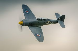 Hawker Sea Fury T.20 by vipmig