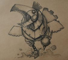 Thunder Chook by SpaceCowSmith