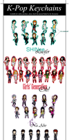 K-Pop Keychain Sale by TheDutchesse