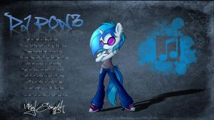 DJ PON3 Wallpaper by superwaffle350