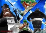 One Piece - Zoro VS Kuma by kkaksjaudil