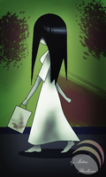 Sadako in shop by MatiasBloodbones