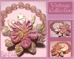 Vintage polyclay collection by colourful-blossom