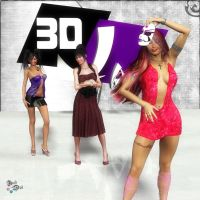 The New 3D J Art Promo by Axel-Doi