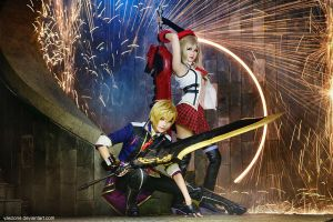 God Eater - Julius n Alisa by vaxzone