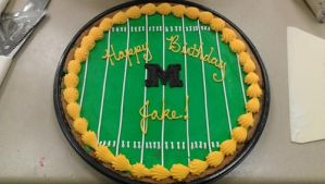 Mizzou Football Field Cookie by ayarel