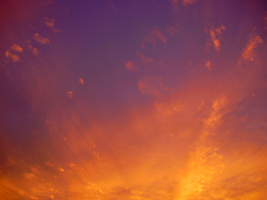 burning sunsets by Blue-Berry-Boy