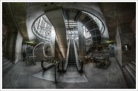 Paris: Spiral by Graphylight