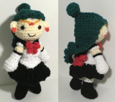 Sailor Pluto amigurumi by BunnieBard