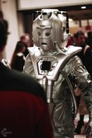 Doctor Who Cyberman cosplay 3 by Ozone-O3