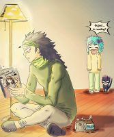 Gajeel 's reading by 191195