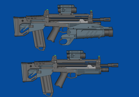 BA.  A.E.A.R. 6.56mm by andyshadow26