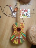 Colorfull experience guitar by MahoneyCZ