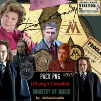 PNG Ministry Of Magic #015 by AkilajoGraphic