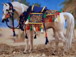 Pebbles arab in costume by tolthorse