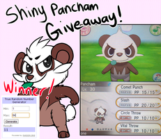 Pancham Giveaway! by RegallyFlawed