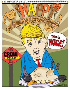 Happy Trumpsgiving cartoon by Conservatoons