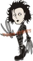 Edward Scissorhands by toonseries