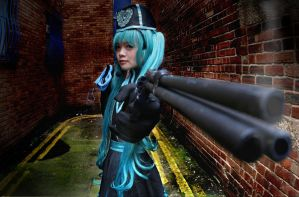 Love Philosophia Hatsune Miku Cosplay:You're next! by SpicaRy