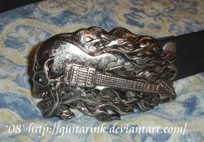Voina's Belt and Buckle by GuitarInk