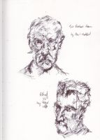 Sculpture Bust Sketches by Explonova